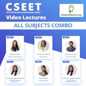 CSEET - All Subjects Combo