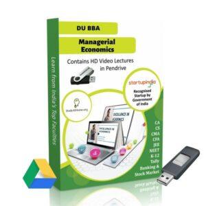Managerial Economics for BBA DU (Delhi University) by CA Aishwarya Khandelwal Kapoor