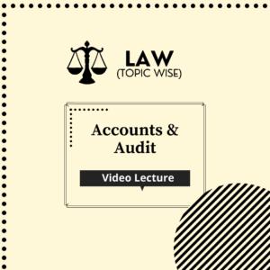 Accounts & Audit