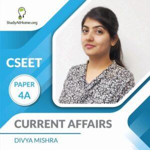 Paper 4A - Current Affairs (CSEET) By Divya Mishra