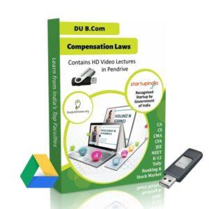 Compensation Laws for B.Com DU (Delhi University) by CA Aishwarya Khandelwal Kapoor
