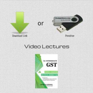 Paper 4B - Indirect Tax GST (CA IPCC Group I) by CA Raj K Agrawal