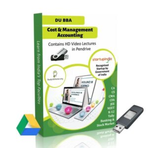 Cost & Management Accounting for BBA DU (Delhi University) by CA Raj K Agrawal