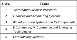Paper 7A - Enterprise Information Systems Crash Course (CA Intermediate Group II) by CA Shilpum Khanna