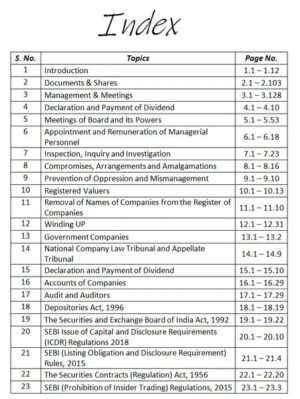 Corporate Laws - Cases & Applications for M.Com DU (Delhi University) by CA Aishwarya Khandelwal Kapoor