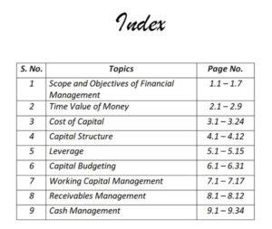 Corporate Finance for BBA DU (Delhi University) by CA Raj K Agrawal