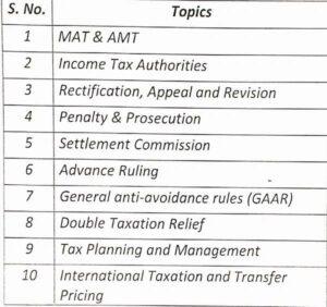 Paper 4A - Income Tax (CS Executive Old Syllabus Module I) by CA Raj K Agrawal