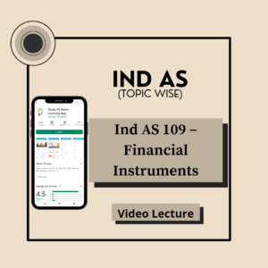 Ind AS 109 - Financial Instruments