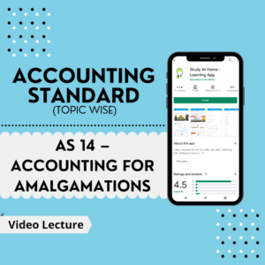 AS 14 - Accounting for Amalgamations