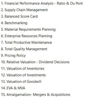 Paper 20 - Strategic Performance Management & Business Valuation - Select Coverage (CMA Final) by CA Raj K Agrawal