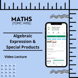 Algebraic Expression & Special Products