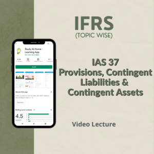 IAS 37 - Provisions, Contingent Liabilities and Contingent Assets