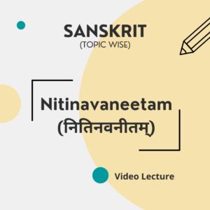 Nitinavaneetam (नितिनवनीतम्)