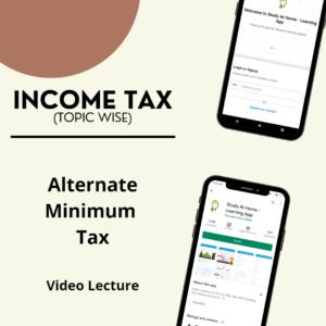 Alternate Minimum Tax