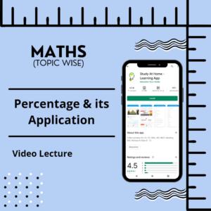 Percentage & its Application