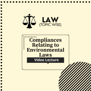 Compliances relating to Environmental Laws