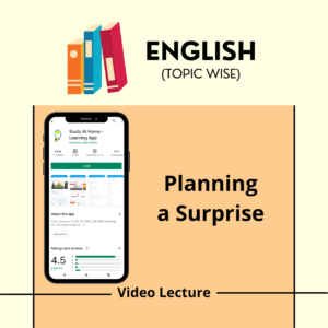 Planning a Surprise
