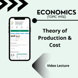 Theory of Production & Cost