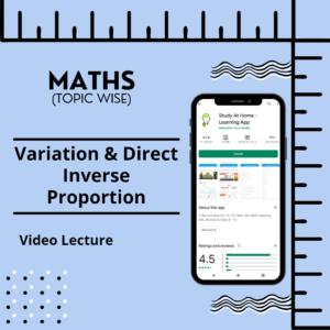 Variation & Direct Inverse Proportion