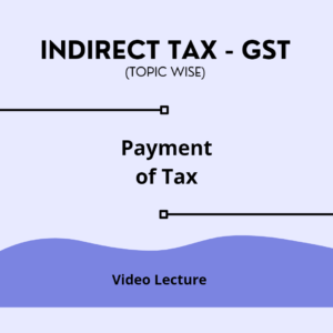 Payment of Tax