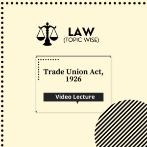 Trade Union Act, 1926