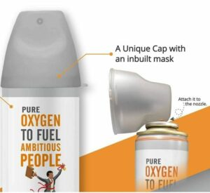 Oxy5 Portable Pure Oxygen Can