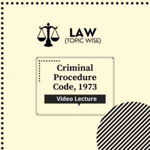 Criminal Procedure Code, 1973