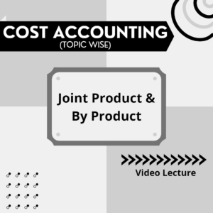 Joint Product & By Product