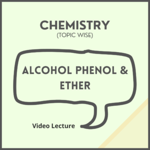 Alcohol Phenol and Ether