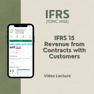 IFRS 15 - Revenue from Contracts with Customers