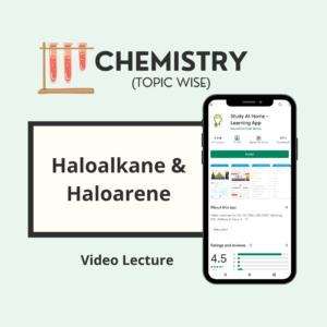 Haloalkane and Haloarene