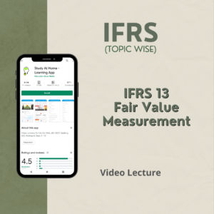 IFRS 13 - Fair Value Measurement