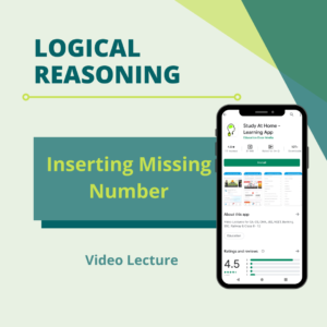 Inserting Missing Number