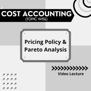 Pricing Policy & Pareto Analysis