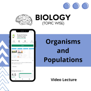 Organisms and Populations