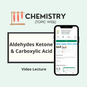 Aldehydes Ketone and Carboxylic Acid