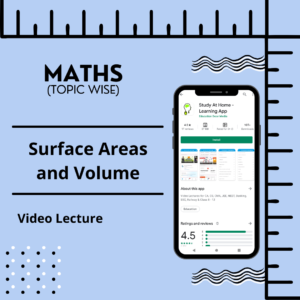 Surface Areas and Volume