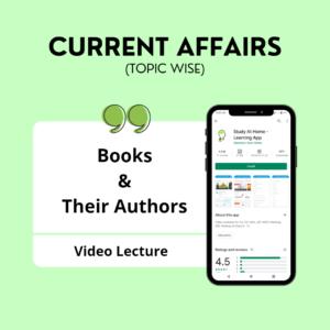 Books & Their Authors
