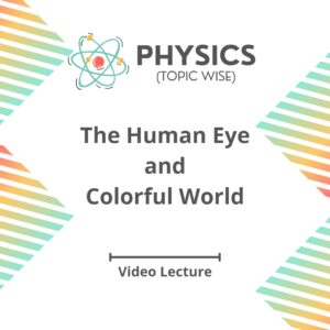 The Human Eye and Colorful World