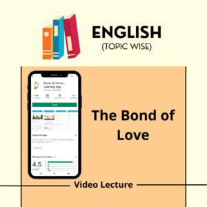 The Bond of Love