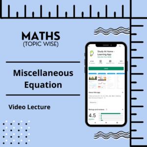 Miscellaneous Equation