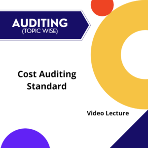 Cost Auditing Standard