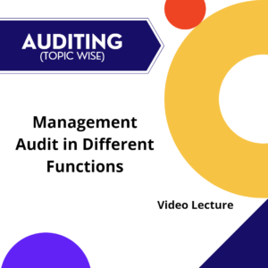 Management Audit in Different Functions