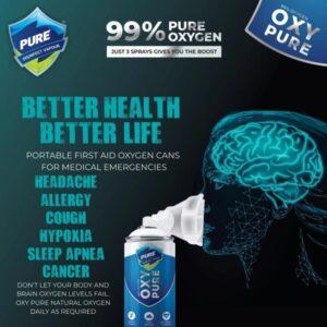 OxyPure Poratable Pure Oxygen Can