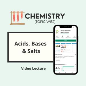 Acids, Bases and Salts