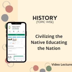 Civilizing the Native Educating the Nation