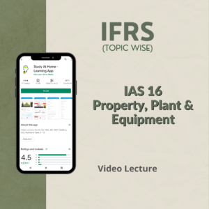 IAS 16 - Property, Plant and Equipment