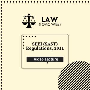 SEBI (SAST) Regulations, 2011