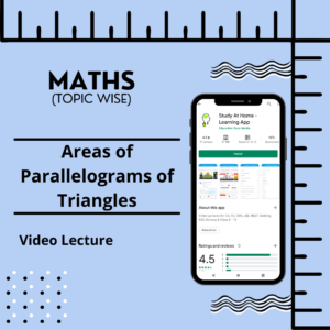 Areas of Parallelograms of Triangles
