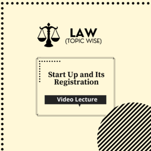 Start Up and Its Registration